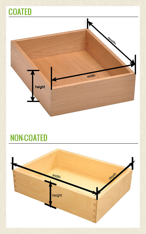 Dovetail Drawer Boxes