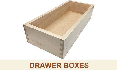 Kitchen Cabinet Doors · Kitchen Drawer Boxes
