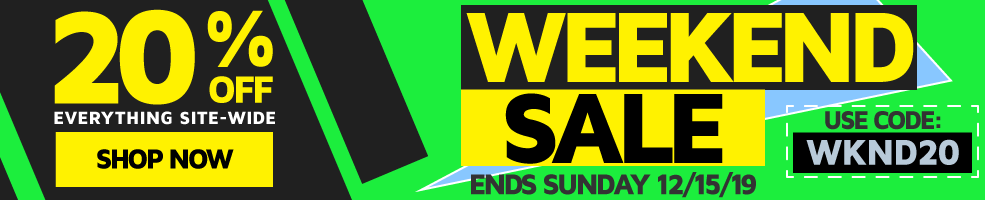 Weekend Sale